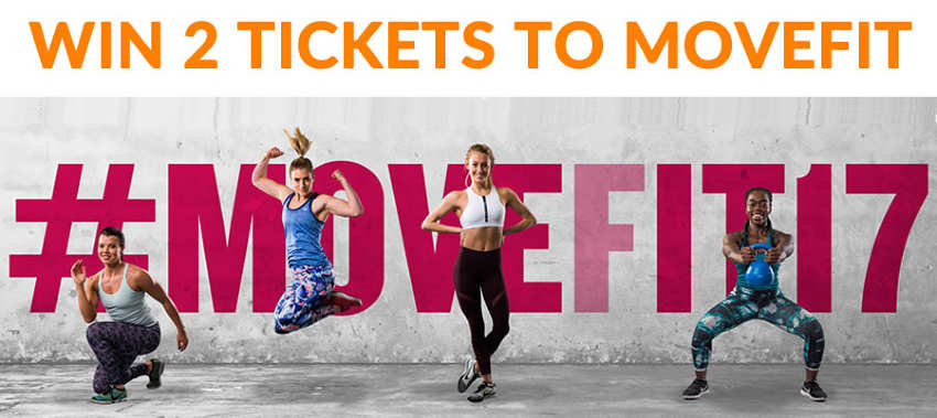COMPETITION: Win tickets to MOVEFIT 2017!